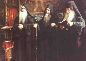 Orthodox Monks in Greece